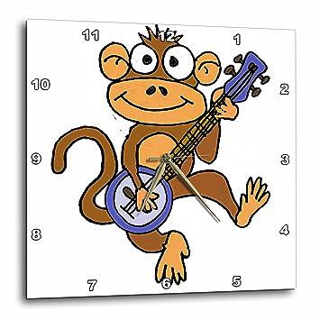 Amazoncom 3drose Fun Cool Dancing Monkey Playing Banjo Cartoon