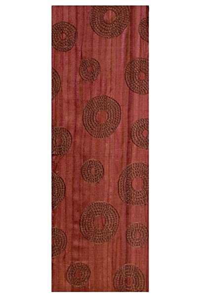 Heritage Lace Rust Serenity Table Runner, ...