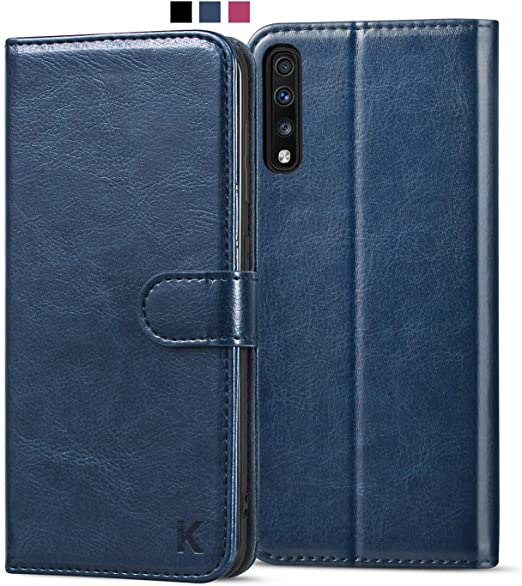 Flip Case Fit for Samsung Galaxy A50 Card Holders Kickstand Extra-Durable Leather Cover Wallet for Samsung Galaxy A50