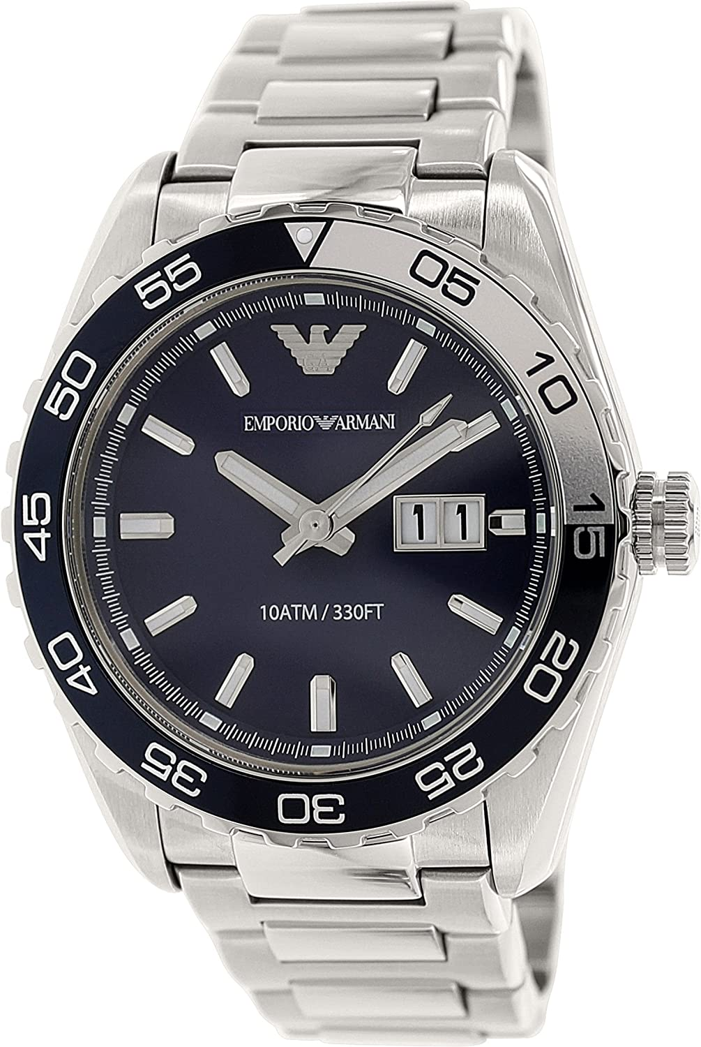 Armani Men's AR6048 Sportivo Blue Watch