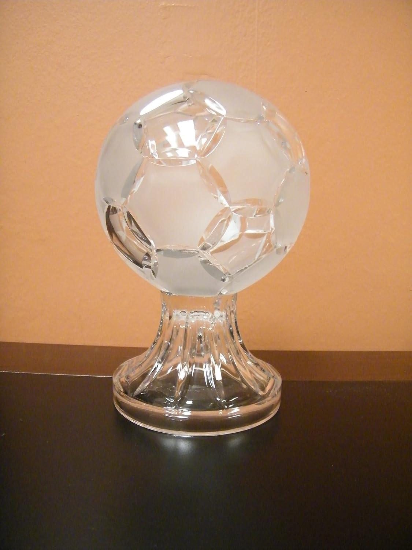 クリスタルクリアFrozenサッカーボールHand MadeのポーランドH 7