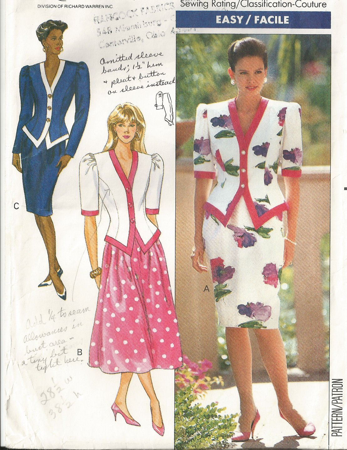Puffy Sleeves Dress Patterns