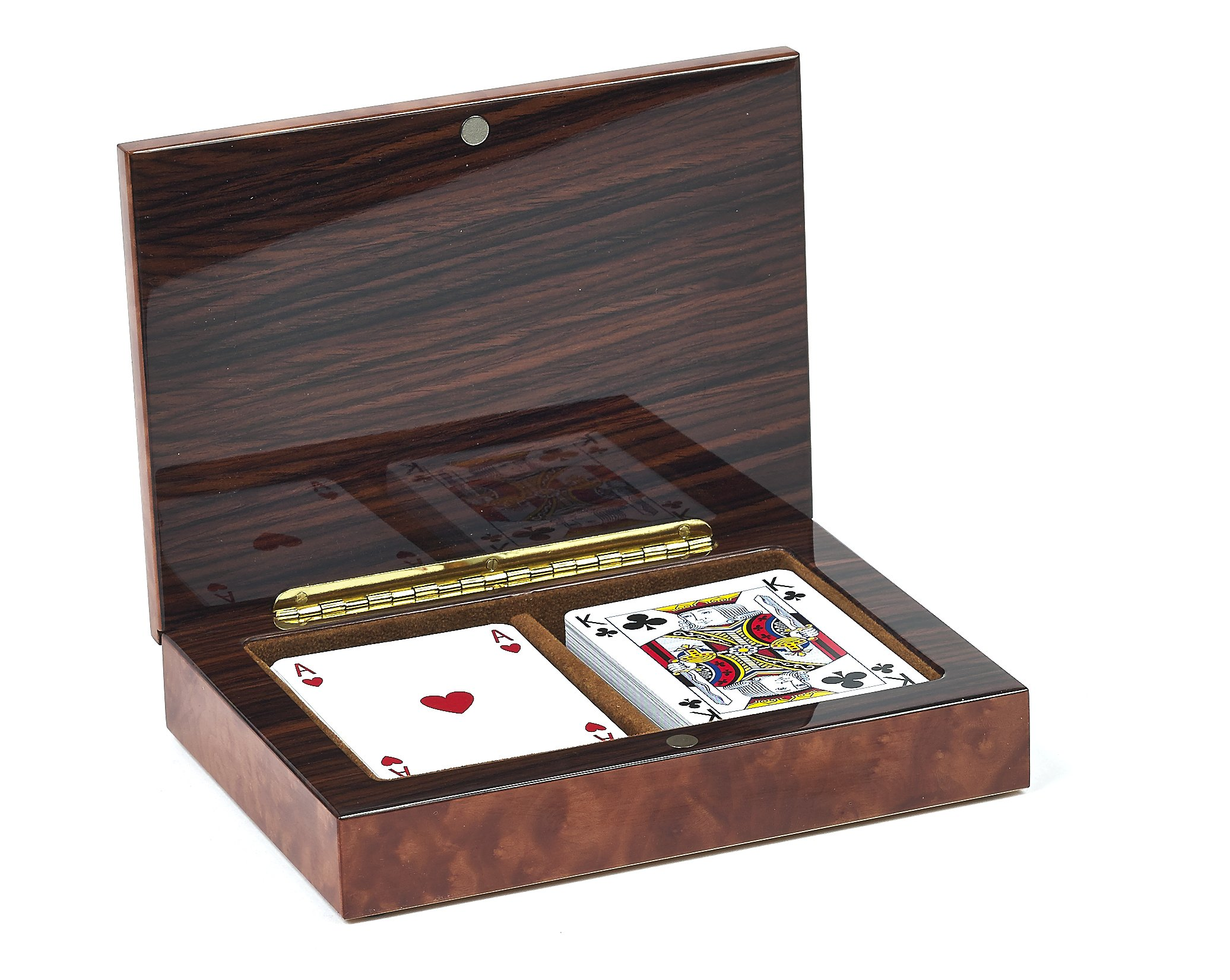 Bello Games Collezioni - Celestino Luxury Briarwood Playing Card Set from Italy by Bello Games New York, Inc.