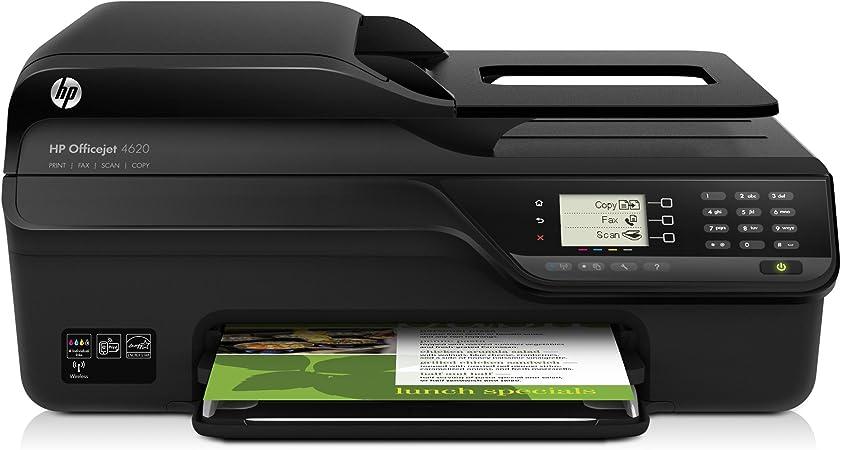 HP Officejet 4620 e-AiO - Impresora multifunción de tinta (B/N 8 ...