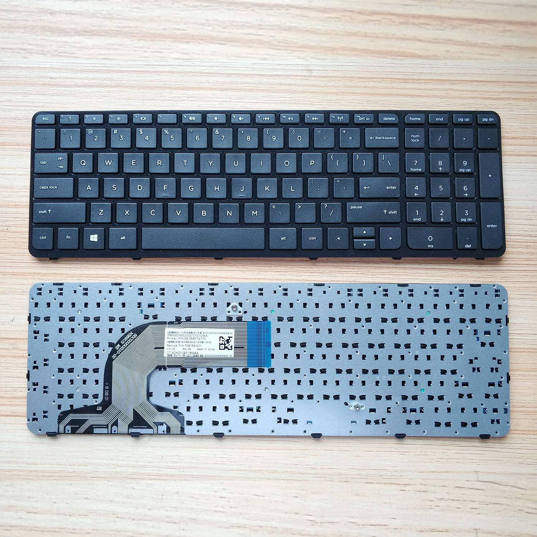 Without Palmrest Givwizd Replacement Backlit Keyboard for HP Pavilion 15-p051sh 15-p051sq 15-p051su 15-p052nd 15-p052nf 15-p052no 15-p052sr 15-p052su 15-p053eu 15-p053nd 15-p054nd 15-p054ng