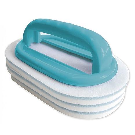 Bayrol mano cepillo con almohadillas intercambiables Piscina Cuidado 411009