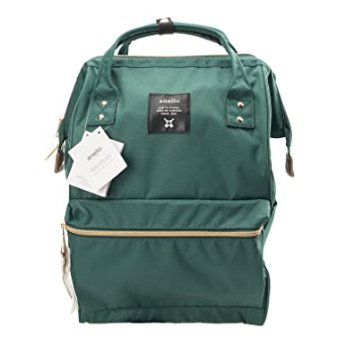 Image Unavailable. Image not available for. Color  Anello Official Dark  Green Japan Fashion Shoulder Rucksack Backpack ... 7a407e76bc