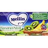 Mellin - Omogeneizzato, Banana Kiwi - 200 grams
