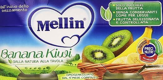 5 opinioni per Mellin- Omogeneizzato, Banana Kiwi- 200 grams