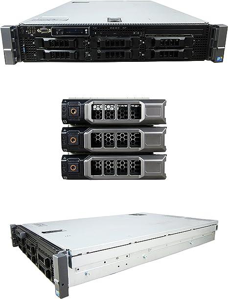 DELL POWEREDGE R710 LFF 2x QUAD CORE E5620 2.4GHz 32GB RAM 2x 1TB SATA