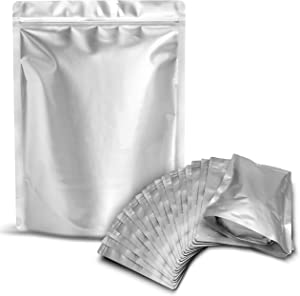 25 Mylar Bags 1 Gallon - Extra Thick 9.4 Mil - 10