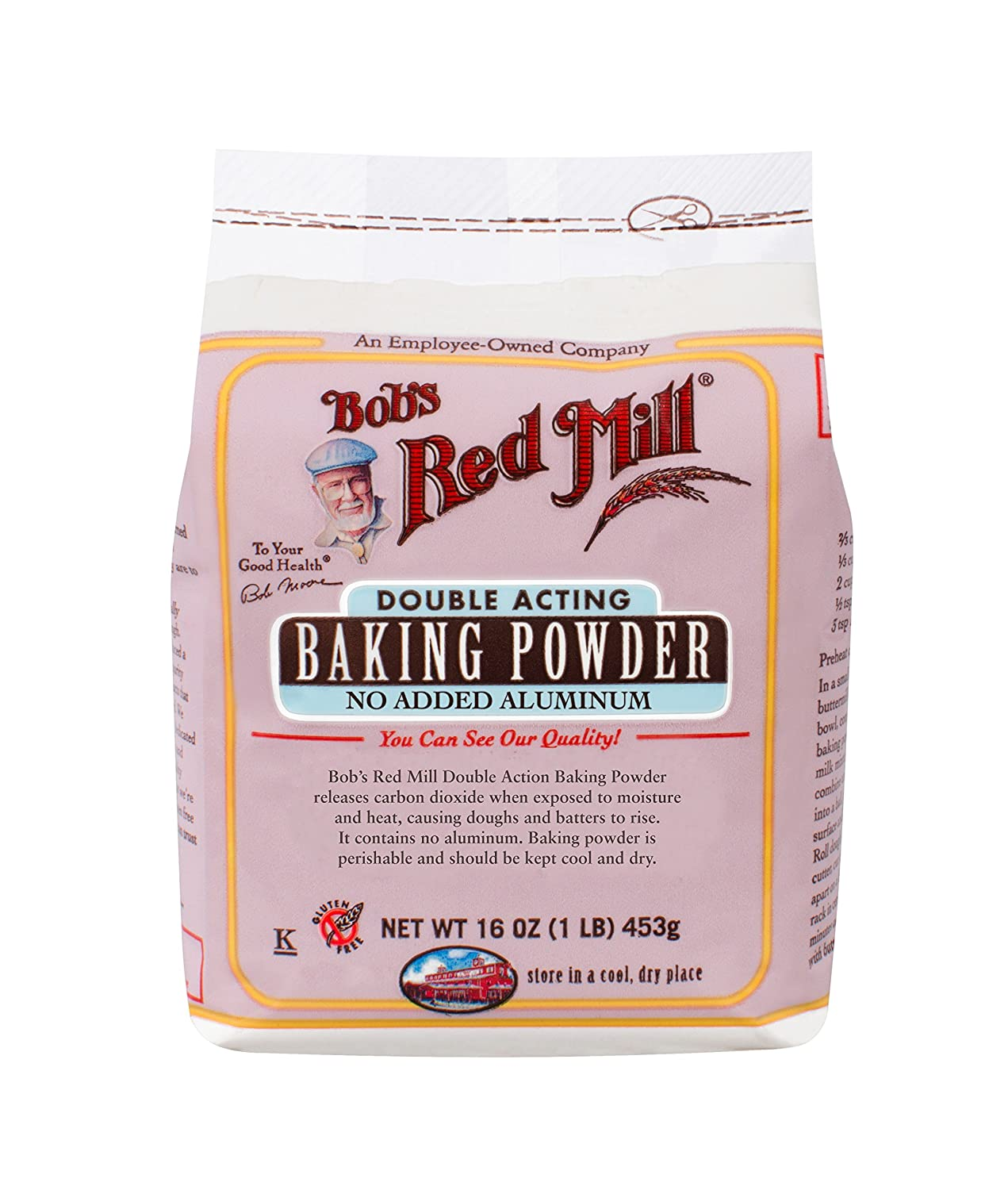 Amazon Com Bob S Red Mill Baking Powder 16 Ounce Grocery Gourmet Food