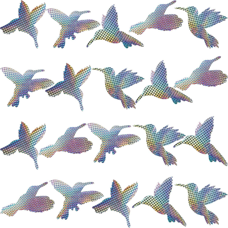 Hummingbird Window Clings Anti Collision Stickers Decor Decorative Bird Decals