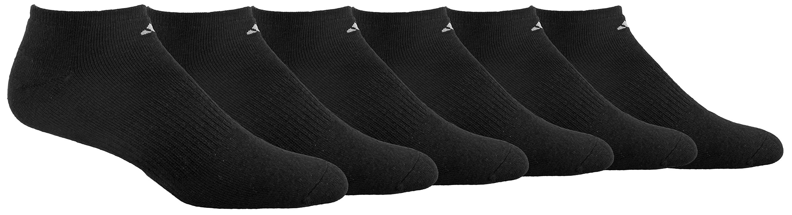 adidas Men's Cushioned Athletic No Show Socks (6-Pack)