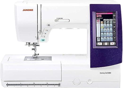 Janome Horizon Memory Craft 9850 - Máquina de coser y bordar ...