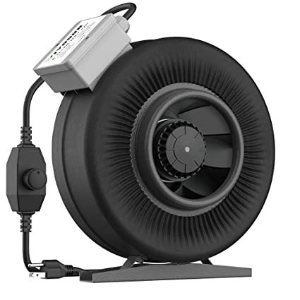 amazon com vivosun 6 inch 440 cfm inline duct ventilation fan withDuct Fan Speed Control Wiring Diagram #14