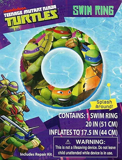 Amazon.com: TMNT: teenage mutant ninja turtles piscina ...