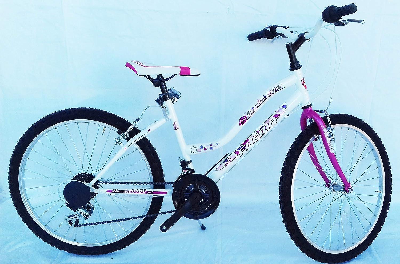 FAEMA Bici Mountain Bike 24 Donna Bianca