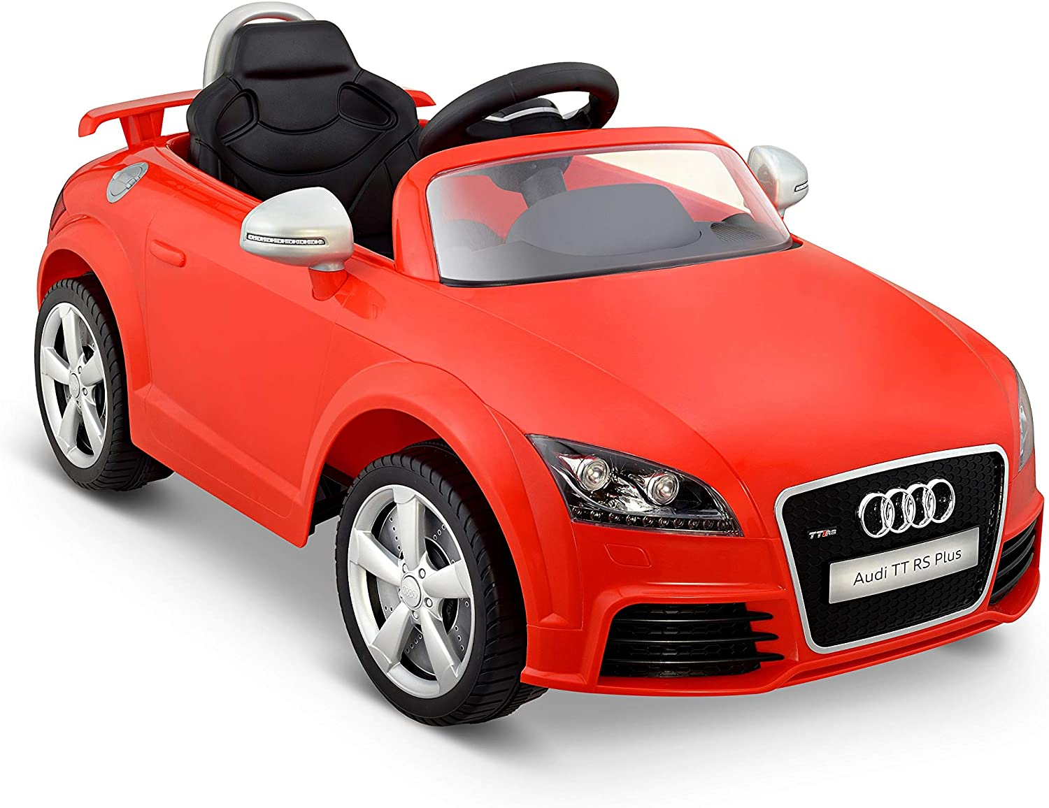 Kid Motorz Audi Tt Rs Red One Seater Car, Red
