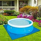 Cubierta de la piscina de 1,8 m de diámetro, cubierta duradera para el polvo de la piscina impermeable para piscinas…