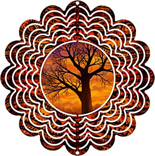 """product image for Next Innovations 101401001-AUTUMNAL Wind Spinner, 6"""" Diameter, Multicolor"""