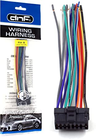 DNF Pioneer Wiring Harness DEH-P43 DEH-P3450 DEH-P4300 DEH-P4400-100% on pioneer deh car stereo player, pioneer deh-p2900mp, pioneer deh-p3000ib,