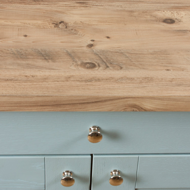 Rustic Pine Matt Wood Effect Laminate Kitchen Worktops (Splashback ...
