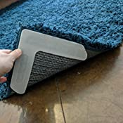 Amazon Com Curl Stop Anti Curling Rug System Pack Of 4