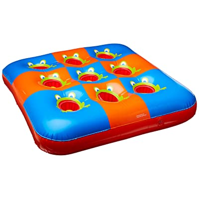 Inflatable 3 In A Row Game | Game Collection | Party Accessory: Kitchen & Dining [5Bkhe0303857]