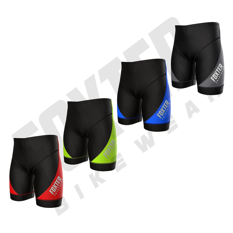 Foxter Chaussures pour Homme Performance Short de Triathlon de Cyclisme Tri Short...
