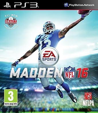 نتیجه تصویری برای Madden NFL 16 برای PS3
