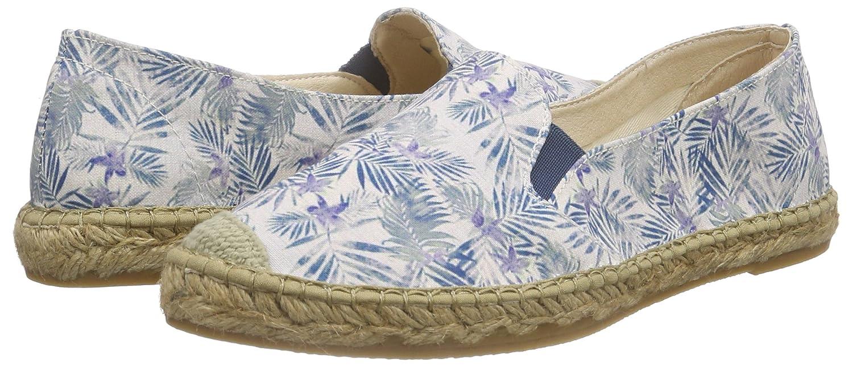 Macarena (Azul) Damen Tropical Espadrilles Blau (Azul) Macarena 50dd4f