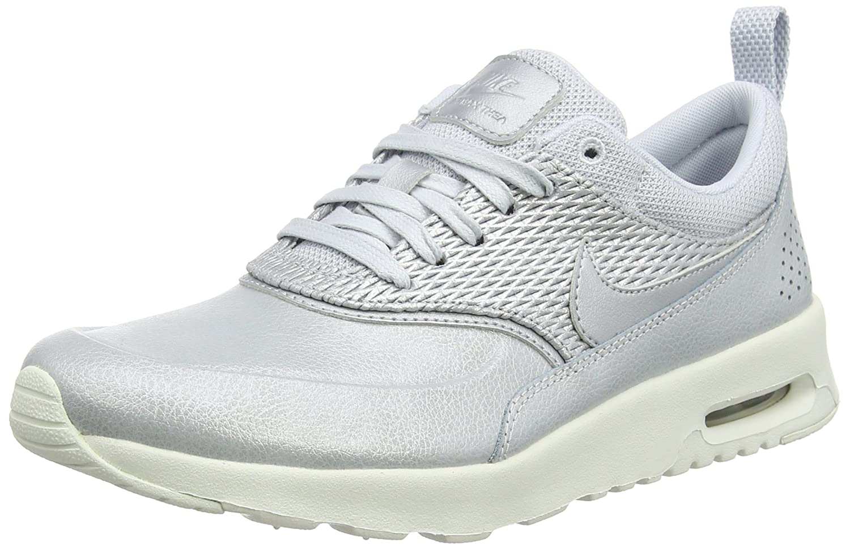nike air max thea premium grey trainers