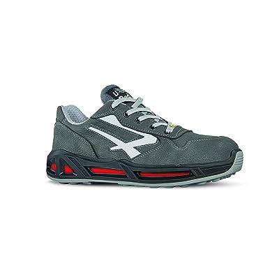 U-Power RC20023-46 RC20023-46-Safety Shoes Range Red Model Kick Carpet S3 Ci SRC ESD Size 46: Home Improvement