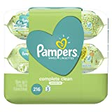 Pampers Baby Wipes Complete Clean Unscented 3X