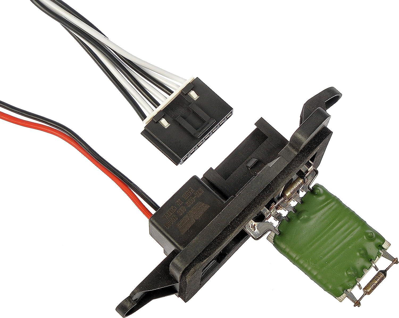 Fits OE 15305077 Fits Chevy /& GMC Trucks Blower Motor Resistor W// Harness