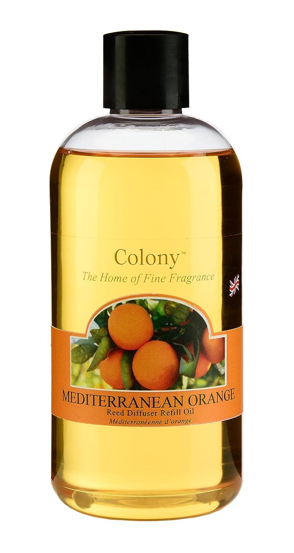 Colony Wax Lyrical Mediterranean Reed Diffuser Refill, Orange CH2830