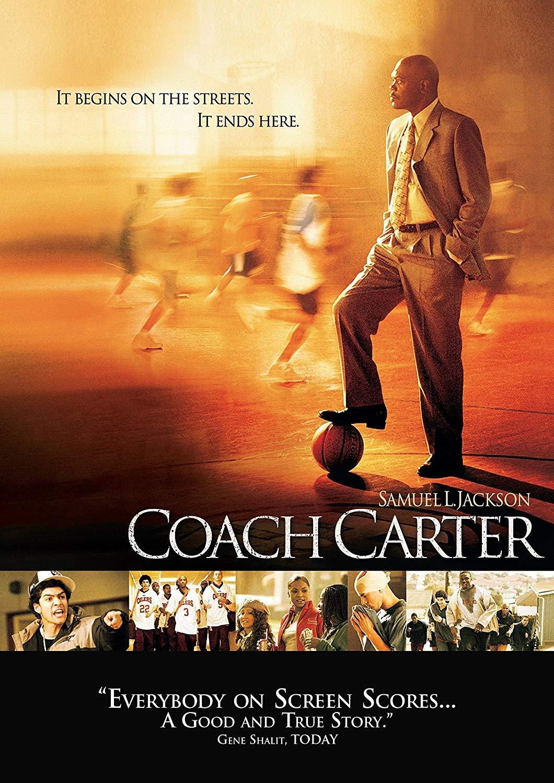 Amazon Com Coach Carter Widescreen Edition By Samuel L Jackson Movies Tv