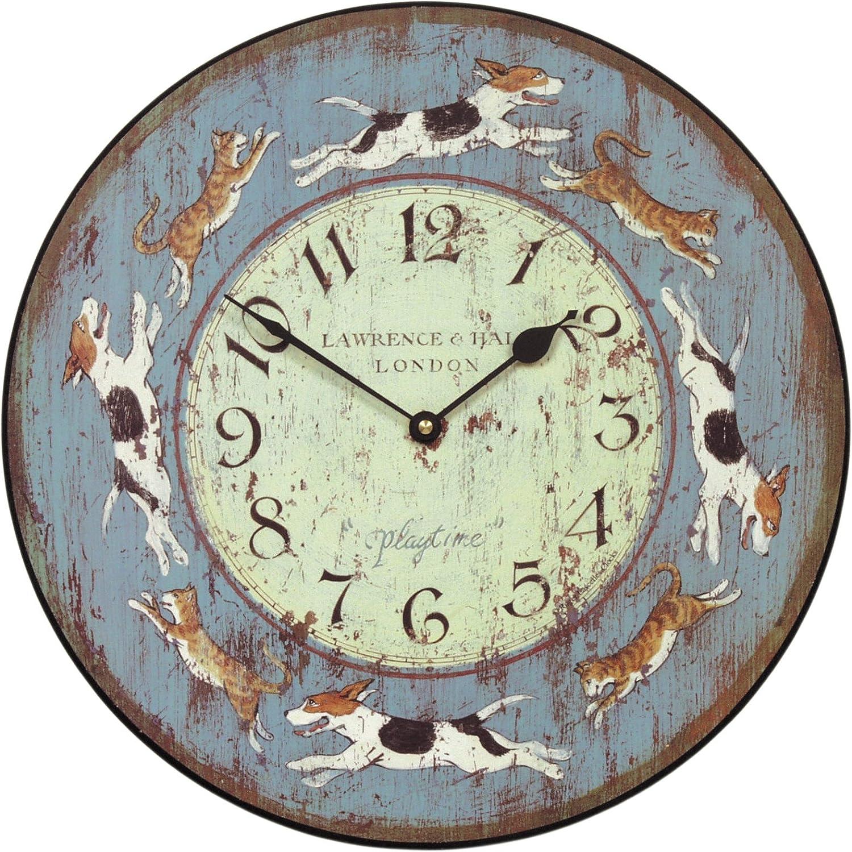 Roger Lascelles Play Wall Clock, 14.2-Inch