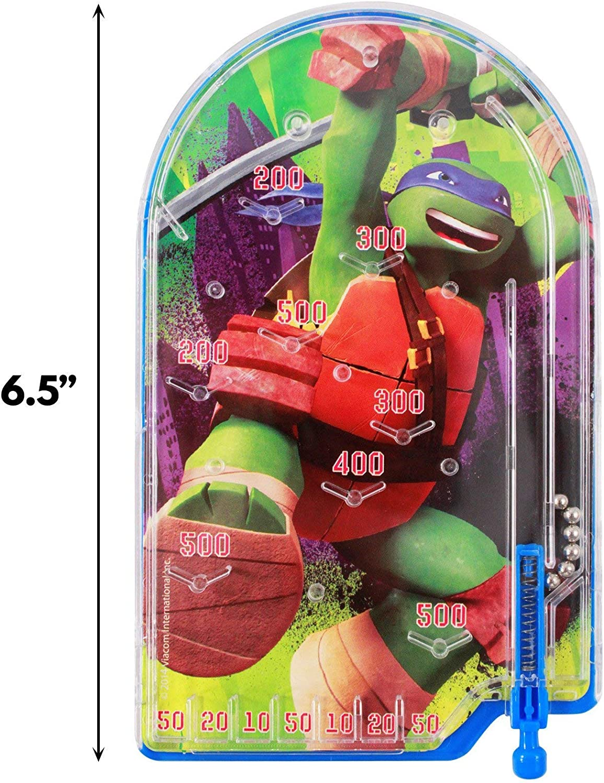 Amazon.com: Mini Teenage Mutant Ninja Turtle Pinball Toy ...