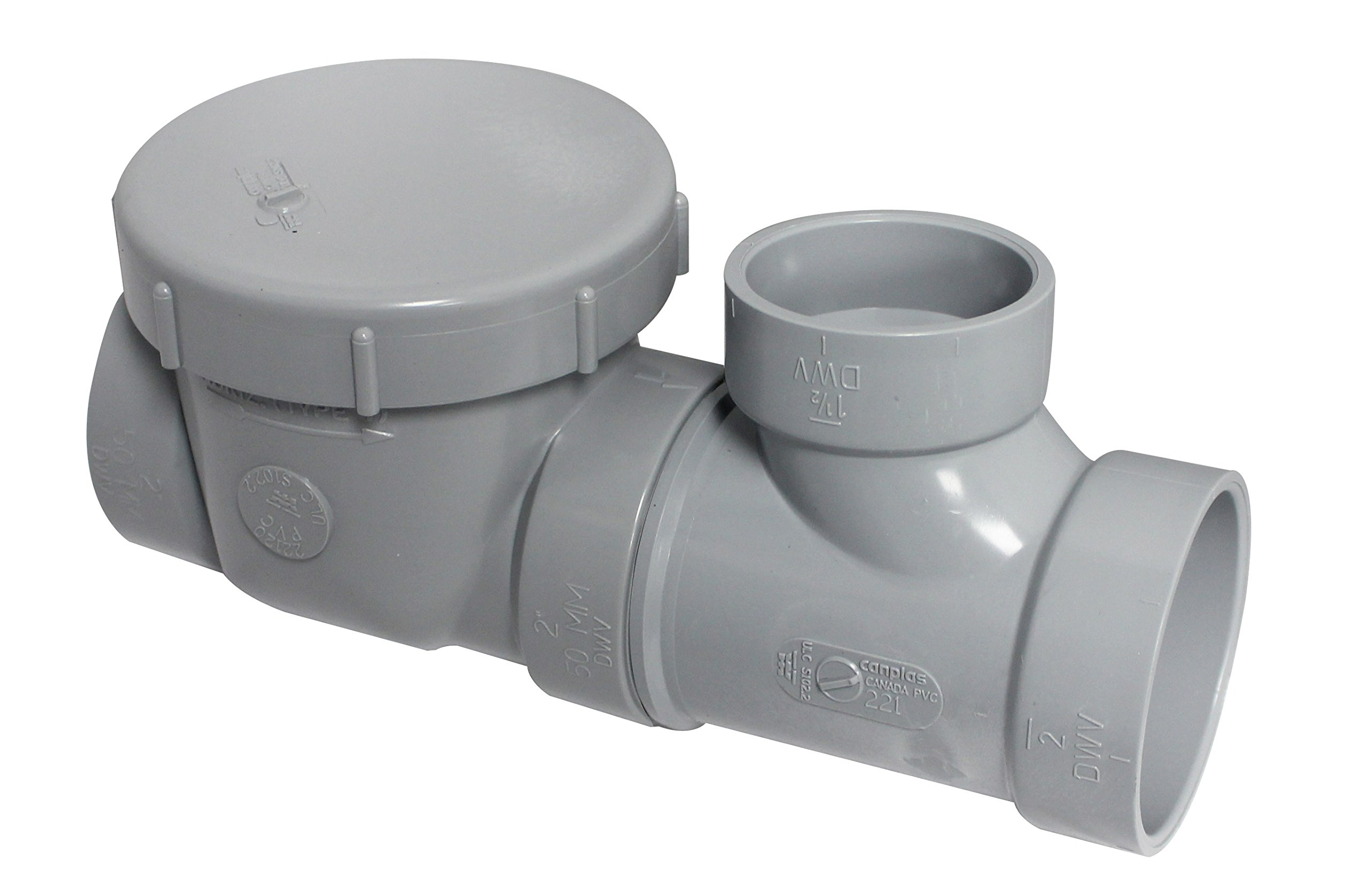Endura 3922115 15 GPM Interceptor Flow Control with Cleanout, Air Intake and 2-Inch Connection