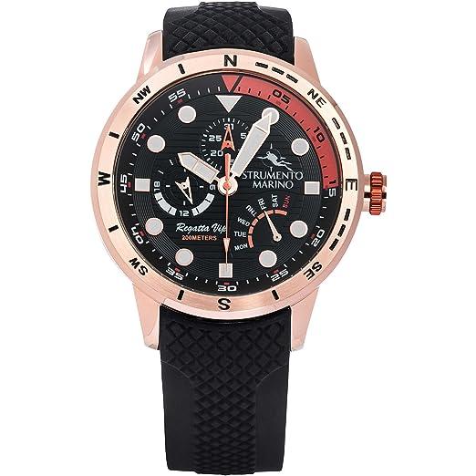 Reloj multifunción Hombre Strumento Marino Regatta VIP deportivo Cod. sm128s/RG/NR/NR: Amazon.es: Relojes