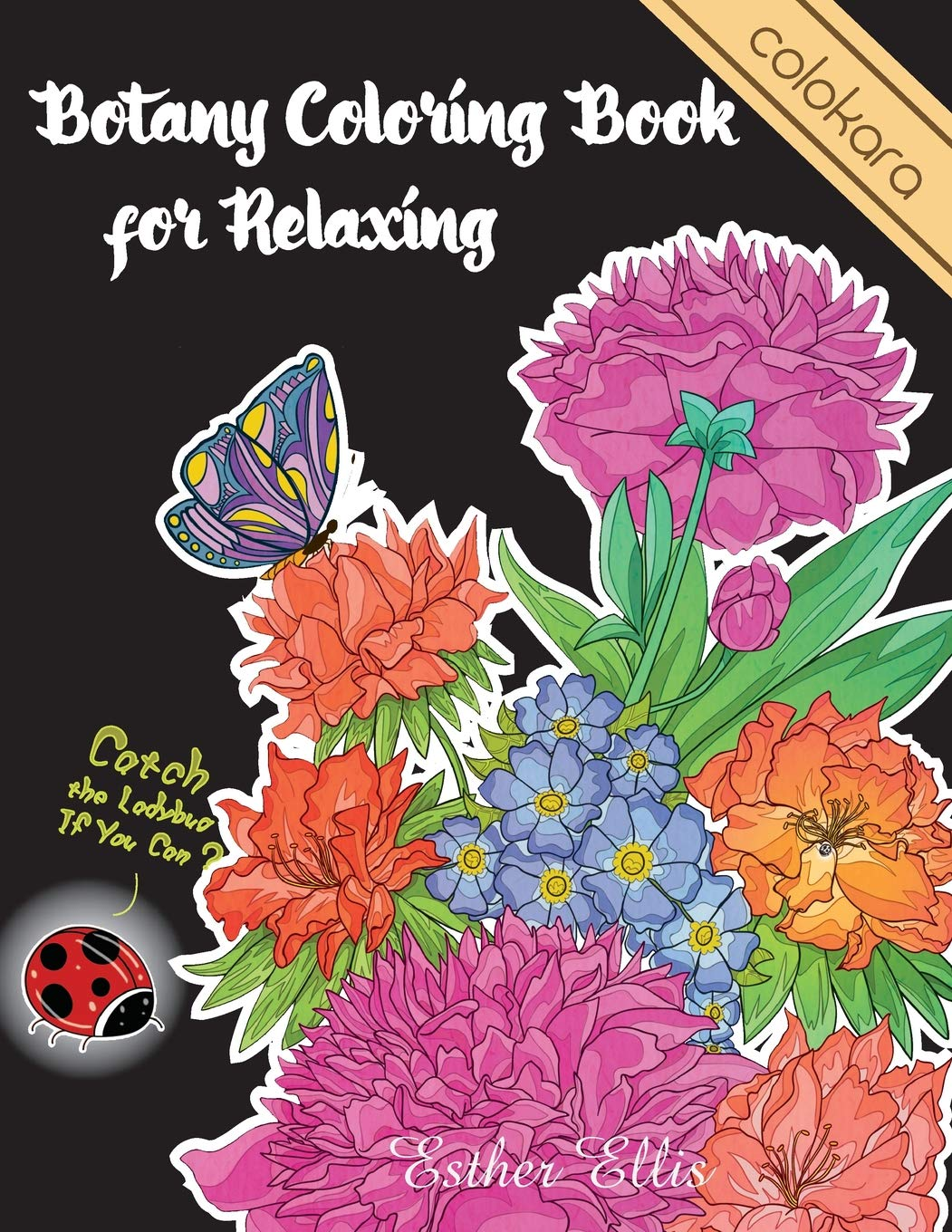 Botany Coloring Book Relaxing Relaxation product image