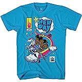 Superstars WWE Kofi Kingston Kofimania Celebration WHT Kofi Kingston Men/'s Cotton T-Shirt