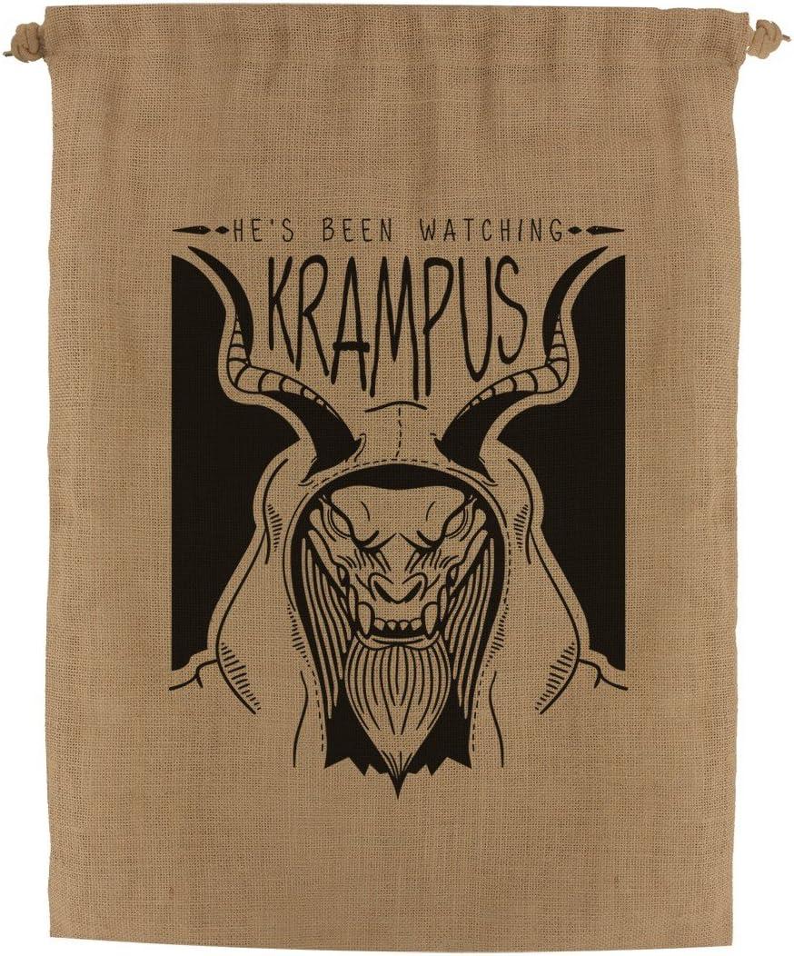 Grindstore Krampus Anti Christmas Hessian Santa Sack Brown 40x55cm