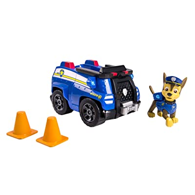 Paw Patrol Chase's Cruiser, Vehicle & Figure: Toys & Games
