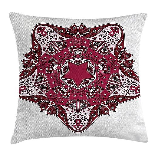 Heekie Funda de cojín Mandala Throw Pillow Cushion Cover ...