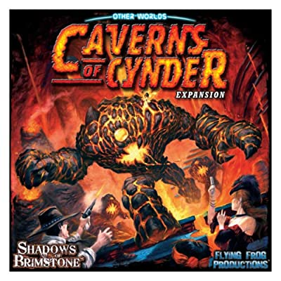 Flying Frog Shadows of Brimstone Caverns of Cynder Expansion: Toys & Games [5Bkhe0505731]