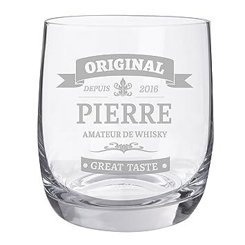 Personello®verre à Whisky Gravé, Motif Original, [nom] Et [année