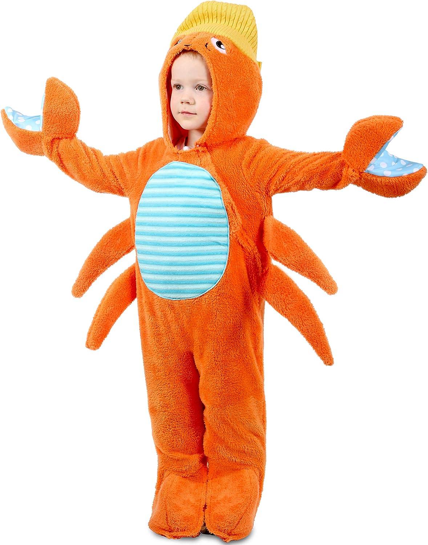 Princess Paradise Kids Crabby Baby Costume